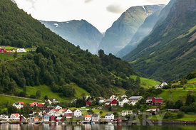 Flam, Sognefjord Norway.
