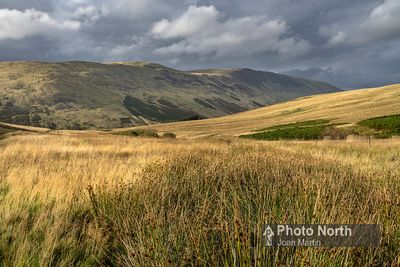 BARBON 51A - Evening sun on the Barbondale Fells
