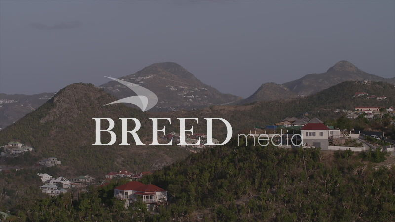 BMS001_007_HD_25fps_St_Barts_Carribbean_Hills