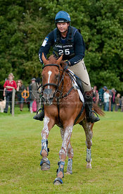 Clayton Fredericks and Poilu at Burghley Horse Trials 2009 - Land Rover Burghley Horse Trials 2009