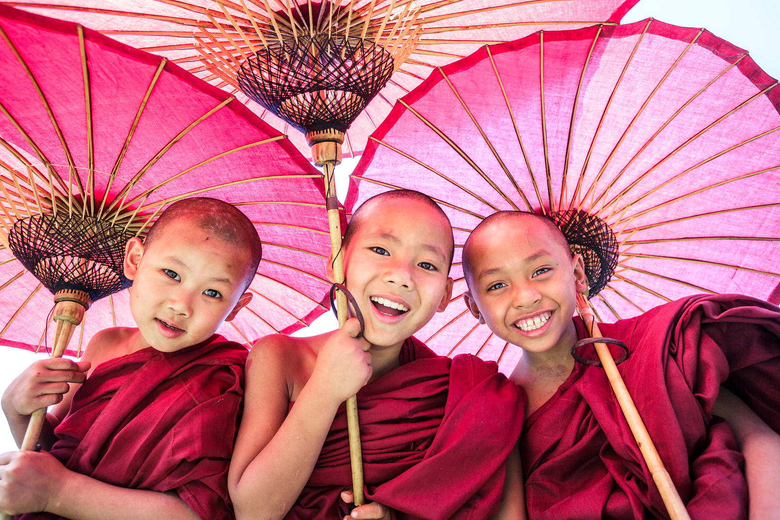 Three Little Monks