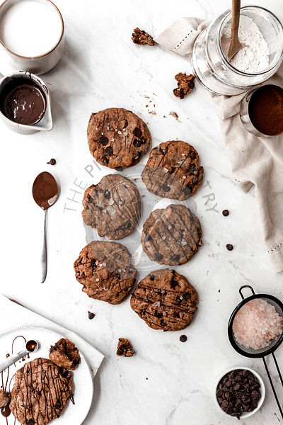 Large Chocolate Cookies