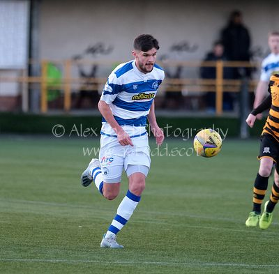 Alloa Athletic v Greenock Morton, Scottish Championship, 02 January 2021
