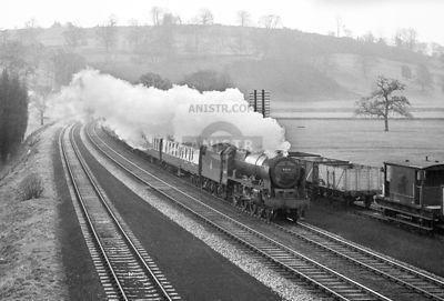 PHOTOS OF LMR ROYAL SCOT 7P CLASS 4-6-0 STEAM LOCOS