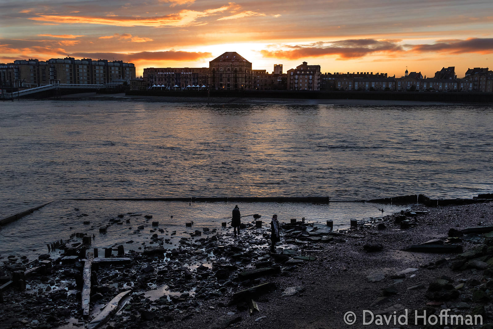 Come Hell or High Water, a monthly event that takes place on the Thames foreshore at low tide.