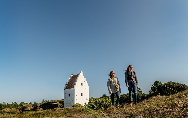 Buried Church in Skagen, Denmark 2