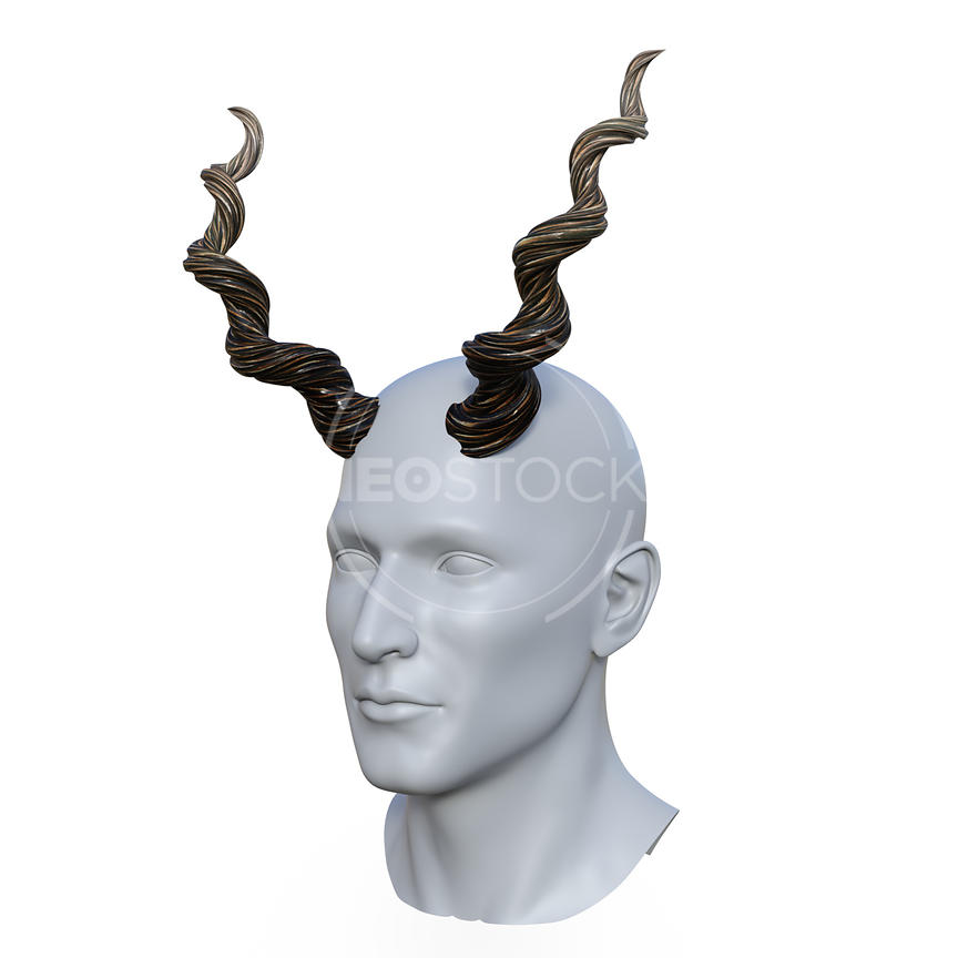 Uni_Twisted_Horns_-_Three-Quarter