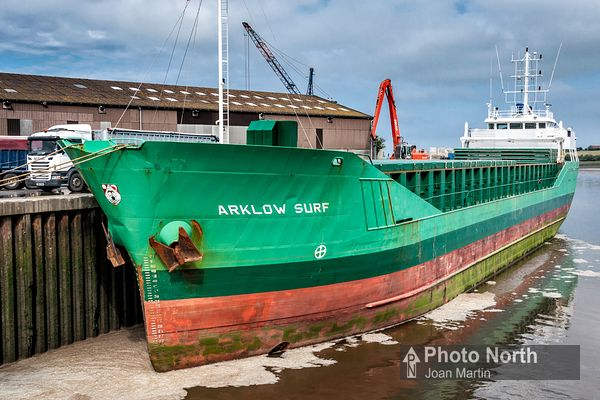 GLASSON DOCK 07A - Arklow Surf cargo ship