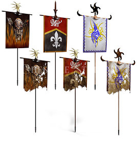 Various War Banners
