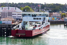 Ferry Passing Point at East Cowes.