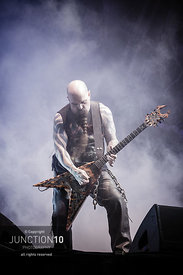 Slayer in their final ever UK show at the Download Festival, Donington Park, Castle Donington, United Kingdom - 16 Jun 2019