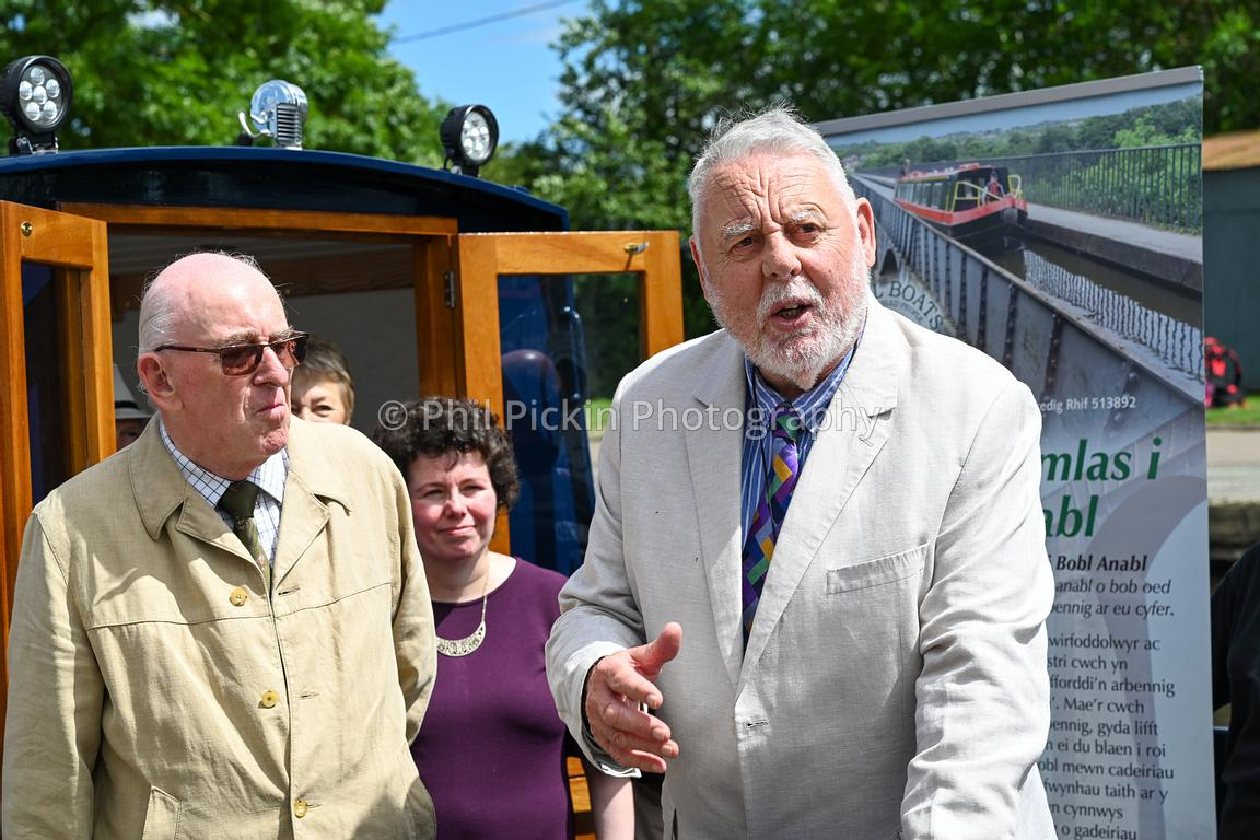 Terry Waite CBE naming the Lady  Winifred.