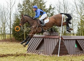 Andrew James and JAZZ CONCERTO - Oasby Horse Trials, March 2018.