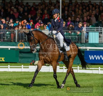 Izzy Taylor and SPRINGPOWER - Dressage - Land Rover Burghley Horse Trials 2019