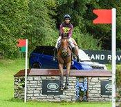 Lizzie Baugh and B EXCLUSIVE, Festival Of British Eventing 2019