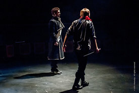 #72260,  Dress Rehearsal for Shakespeare's, 'Macbeth', Rose Bruford College, Sidcup, Kent.