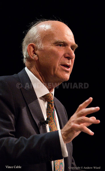 England, UK . 19.9.2017. Bournemouth . Liberal Democrats Conference. Vince Cable.