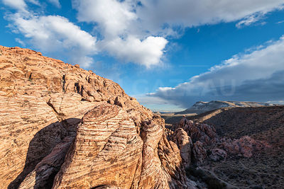 Parc national de Red Rock à Las Vegas