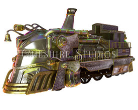 Opal Steampunk Train