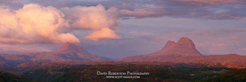 Image - Canisp and Suilven, Assynt, Sutherland