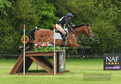 Piggy French and COOLEY MONSOON, Fairfax & Favor Rockingham Horse Trials 2019.