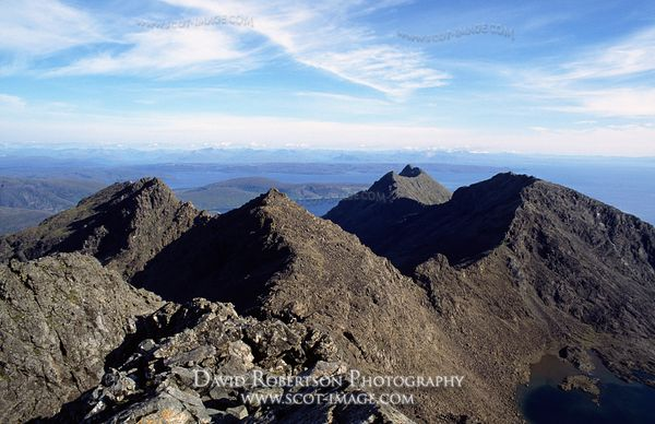 Image - Black Cuillin, Skye. View from Sgurr Alasdair