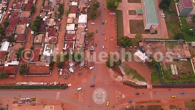 Bangui from above, Central African Republic