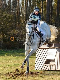 Louise Harwood and BALLADEER MILLER MAN. Oasby (1) Horse Trials 2020