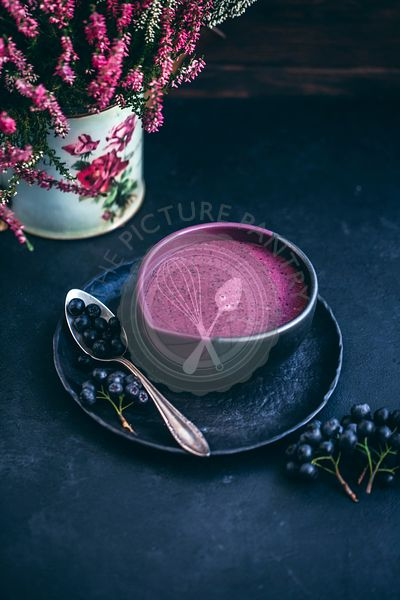 Aronia berries smoothie
