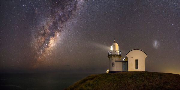 Lighthouse by the Milkyway
