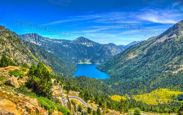 Oredon Lake - Pyrenees Mountains