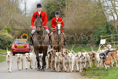 The Quorn Hunt at Walton on the Wolds 6/1