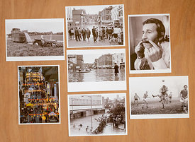 Set  7 postcards of Guildford