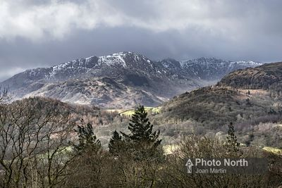 LANGDALE 49A - Wetherlam from Great Langdale