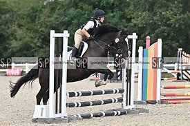 Stapleford Abbotts. United Kingdom. 08 August 2020. Combined training. Jumping. MANDATORY Credit Garry Bowden/Sport in Pictur...