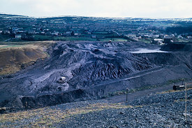 #5617,  Colliery spoil tip, Wales.