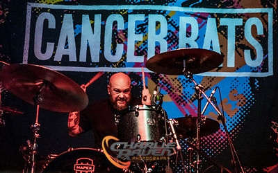 Cancer Bats performing at the O2 Academy Bournemouth 23.11.19