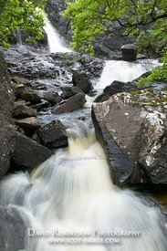 Image - Eas Fors waterfall, Isle of Mull, Scotland