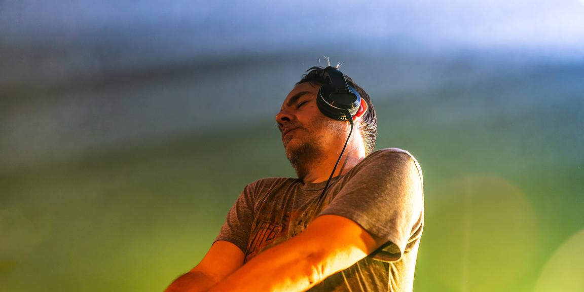 Laurent Garnier, Astropolis 24th, Manoir de Keroual, Brest, 2018.07.08, David Boschet.