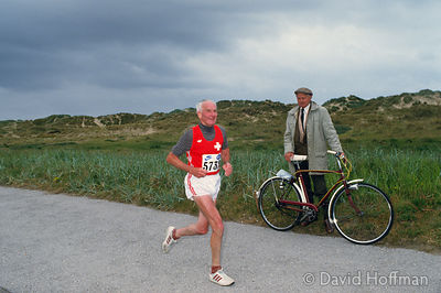 World Veteran's Half Marathon, Lytham, Lancashire in 1985.