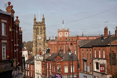 Stockport skyline