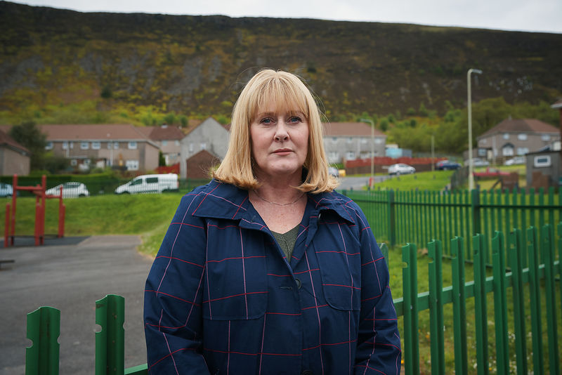 Sarah Lancashire - unit stills portrait - The Accident