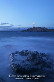 Image - Arnamurchan Lighthouse lit at dusk