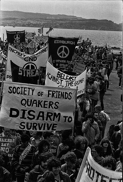 N83-0 CND March for the Future 1981