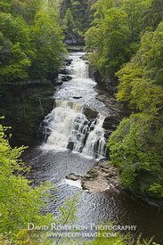 Image - Corra Linn, Falls of Clyde, New Lanark, Scotland