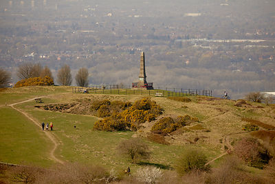 Werneth Low cenotaph