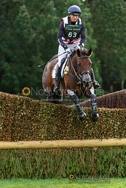 Piggy French and VANIR KAMIRA - Cross Country - Land Rover Burghley Horse Trials 2019