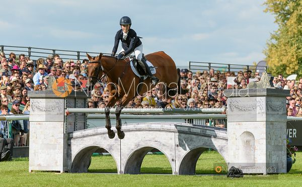 Becky Woolven and DHI BABETTE K - Show jumping and prizes - Land Rover Burghley Horse Trials 2019