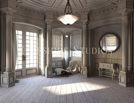 Victorian or Edwardian Room