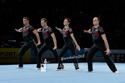 WCH Men's Group Qualification Germany - Balance